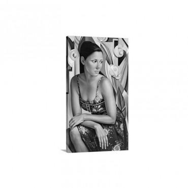 Belle du Jour Wall Art - Canvas - Gallery Wrap