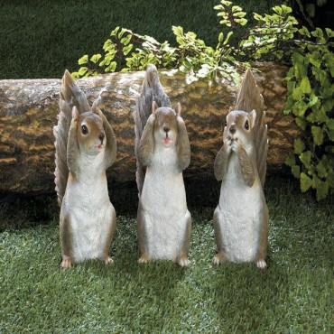 See No Evil Squirrel