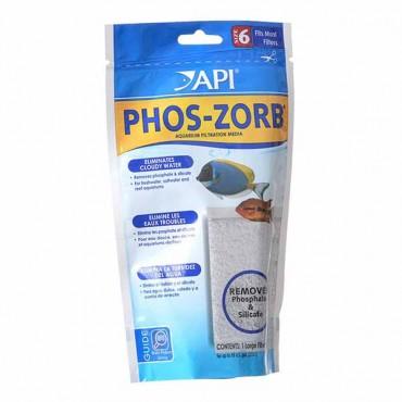 API Phos-Zorb for API Nexx and Rena Smart filter - Size 6 - 5.25 oz - Treats 55 Gallons - 2 Pieces