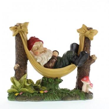 Slumbering Gnome Garden Statue