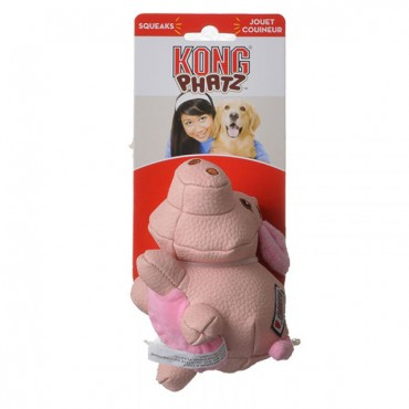 Kong Phat Dog Toy - Pig - Small - 1 Pack - 2 Pieces