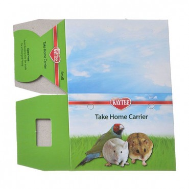 Kaytee Take Home Carrier - Small - 4 in. L x 3 in. W x 3 in. H - 25 Pieces