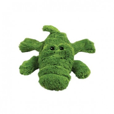 Kong Cozier Plush Toy - Small Ali-gator Dog Toy - Small - Ali-gator Dog Toy - 4 Pieces