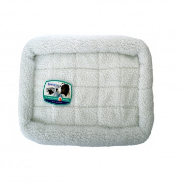 Precision Pet Snoozy Pet Bed Original Bumper Bed - White - Small 29 L X 18 W