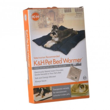 K and H Pet Products Pet Bed Warmer - Small - 9.5 L x 8.5 W x .25 H 4 Watts