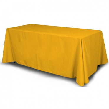 Solid Color Table Throws - Assorted Colors