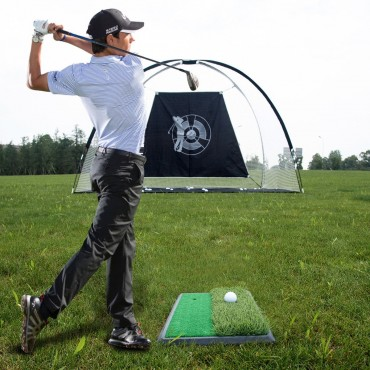 3 - in - 1 Portable 10 In. Golf Practice Set