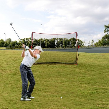 10 In. x 7 In. Golf Practice Net Training Hitting Personal Driving