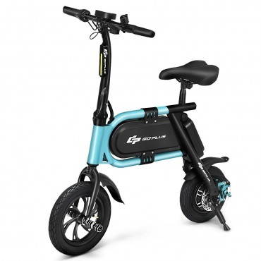 350 W High Speed Pedal-Free Folding Adult Electric Scooter