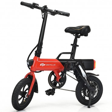250 W Portable Aluminum High Speed Folding Adult Electric Bicycle