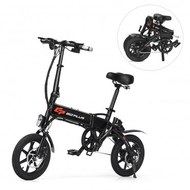 350 W Portable High Speed Folding Adult Electric Bicycle