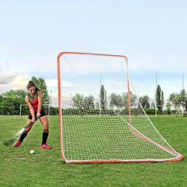 6 Ft. x 6 Ft. Portable Lacrosse Practice Net For Sport Training