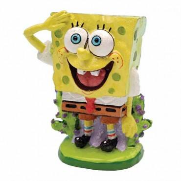 Sponge bob Sponge bob Square Pants Aquarium Ornament - Sponge bob Ornament - 2 in. Tall - 2 Pieces