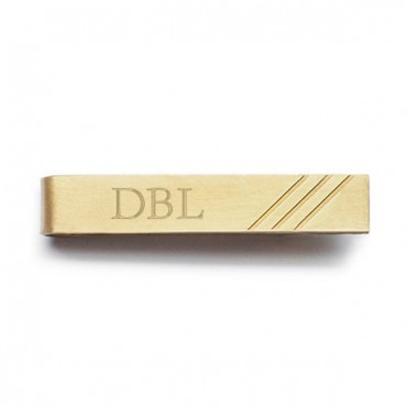 Best Day Ever Brass Tie Clip