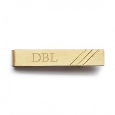Best Day Ever Brass Tie Clip