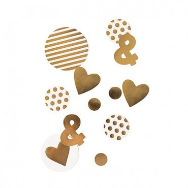 Gold Foil Jumbo Party Confetti - 2 Pieces