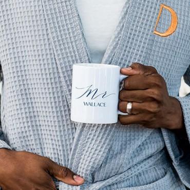 Personalized Coffee Mug - Mr