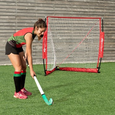 4 Ft. Portable Lacrosse Goal Net with Carry Bag