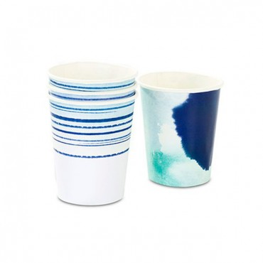 Aqueous Paper Party Cups - 9 Oz. - 2 Pieces