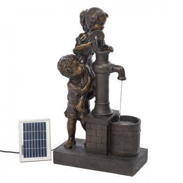 Teamwork Water Pump Solar Fountain