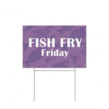 Fish Fry - Purple Fish