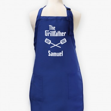 The Grillfather Personalized Men's Twill Apron