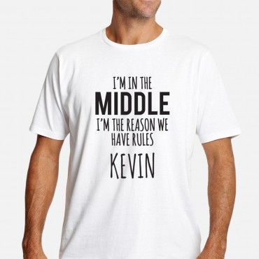 The Rules Personalized Men's T-Shirt
