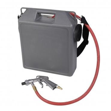 30 lbs Handheld Air Sandblaster Blasting Gun Tool Kit W / 4 Nozzles