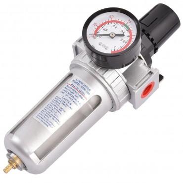 Air Pressure Regulator Filter Water Separator With Pressure Gauge