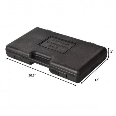 21 Pcs Goplus SAE 3/4 In. Drive Socket Set With Case