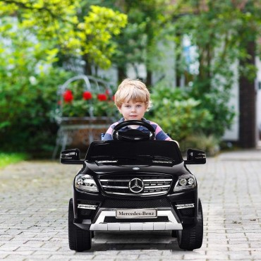 6 V Mercedes Benz ML350 Kids Ride On Car With MP3 + RC