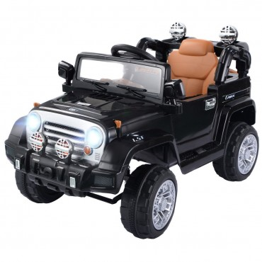 12 V Kids Ride On Truck With MP3 + LED Lights