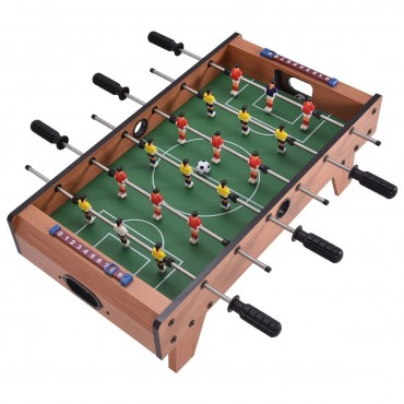 27 In. Indoor Competition Game Football Table W / Legs