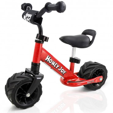 6.5 In. Kids Cycling Training Adjustable No Pedal Balance Bike