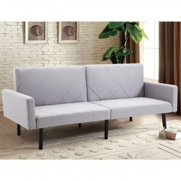 Convertible Recliner Couch Splitback Sleeper Futon Sofa Bed