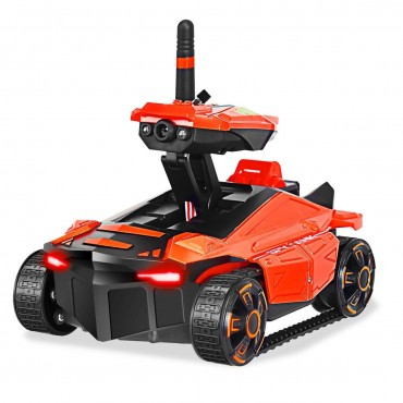 YD211 FPV Kids Wifi Shooting RC Spy Tank Toy With HD Camera