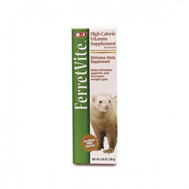 8 in 1 Pet Products Ferretvite High Calorie Vitamin Supplement - Vitamin Supplement - 2 Pieces