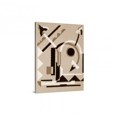 Design from Nouvelles Compositions Decoratives, late 1920s Wall Art - Canvas - Gallery Wrap