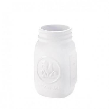 White Rooster Mason Jar