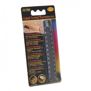 Exo-Terra Liquid Crystal Wide Range Thermometer - Wide Range Thermometer - 5 Pieces