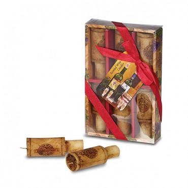 Wine Cork Candle Set