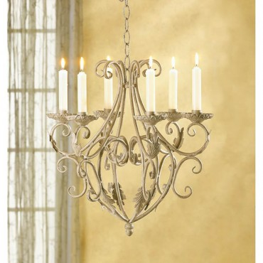 Wrought Iron Candeliers