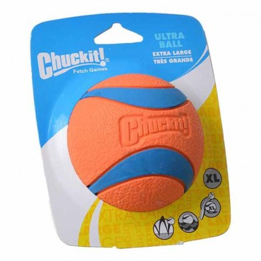 Chuckit Ultra Balls - X-Large - 1 Count - 3.5 in. Diameter - 2 Pieces