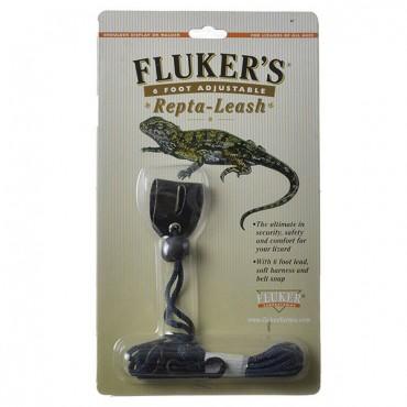 Flukers Repta-Leash - X-Small - 3 in. Harness - 6 in. Lead - 2 Pieces