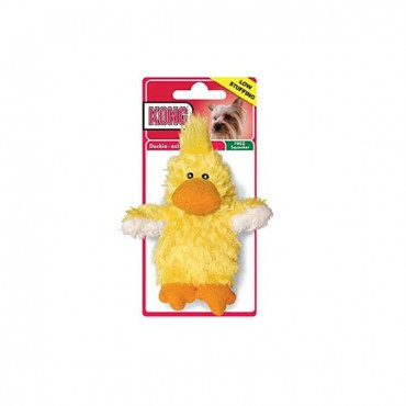 Kong Plush Duckies Dog Toy - X-Small - 4.5 in. - 5 Pieces