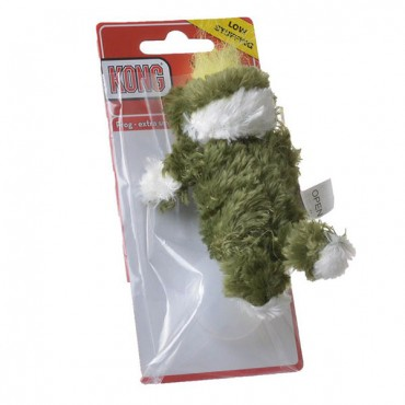 Kong Plush Frog Dog Toy - X-Small - 4 in. - 5 Pieces