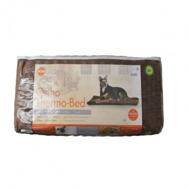 K and H Pet Products Ortho Thermo Heated Pet Bed - Chocolate Brown - X-Large 33 L x 43 W x 3 H
