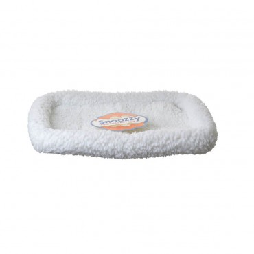 Precision Pet Snoozy Pet Bed Original Bumper Bed - White - X - Small 23 L x 16 W