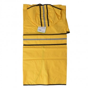 Fashion Pet Rainy Day Dog Slicker - Yellow - XX-Large 29 - 34 From Neck Base to Tail