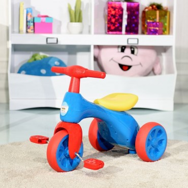 Kids Riding Balance Bike With Sound And Storage Box